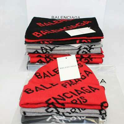 2019 new BalenciaGa² men and women autumn and winter hat scarf to keep warm, thi