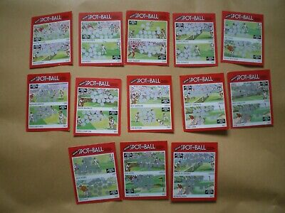 Super Spot The Ball Cards, Collection Of 13 Scratchcards, Various Sports