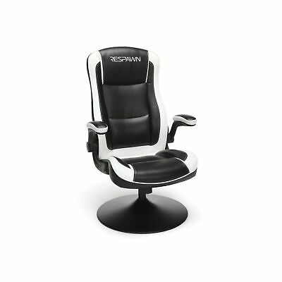 Respawn 800 Racing Style Gaming Rocker Chair Padded White RSP 800 BLK WHT New