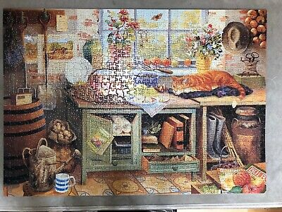 HOUSE OF PUZZLE 1000 pieces ( GARDENERS WORLD) The Afton collection