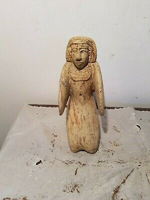 Rare Antique Ancient Egyptian Statue God Isis Good Health Medicine 1730-1640BC