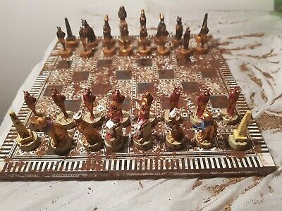 Rare Antique Ancient Egyptian Game Gods Horus Bastet Anubis temple1279–1213 BC