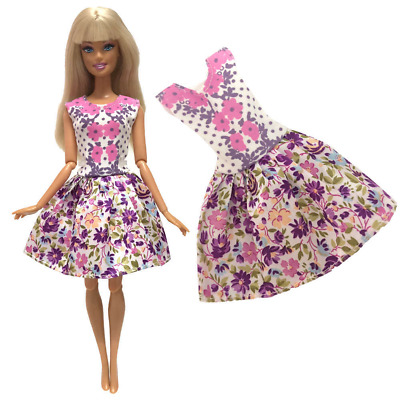 New Barbie Die Toys Fancy Fashion Clothes Handmade Doll Dress Casual Outfit Wear