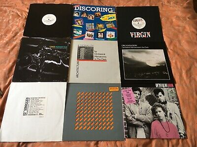 Orchestral Manoeuvres In The Dark OMD Job Lot Vinyl Record Collection x64 items