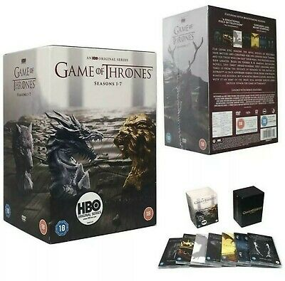 Game of Thrones Seasons 1-7 DVD Box Set New and  Sealed