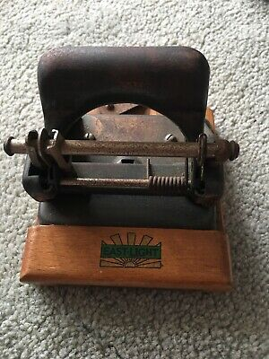 Vintage East Light Hole Punch