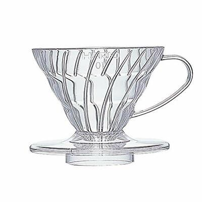 C450 F/S Hario V60 Coffee dripper 01 Clear VD-01T VD-02T VD-03T for 1to 6cups JP