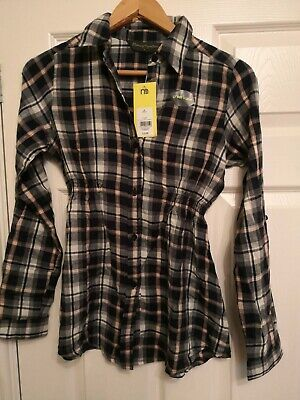 Blooming Marvellous Mothercare Ladies Pregnancy Maternity Check Size 6 RRP £22