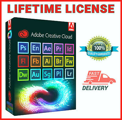 🔥🔥AdobeMaster Collection CC2019 ☑Lifetime Version ☑Low Price☑Fast Delivery🔥