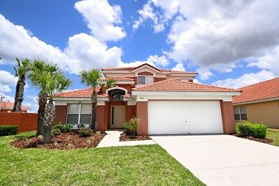 Universal/Disney Orlando Florida Huge Villa With  Pool And Cinema Room 5 Star