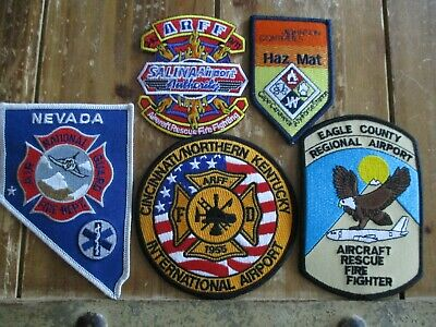 5 ARFF/Military Fire Patches #21