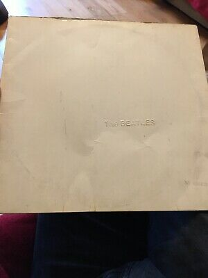 The Beatles White Album Sleeve Only No Record Pcs7068