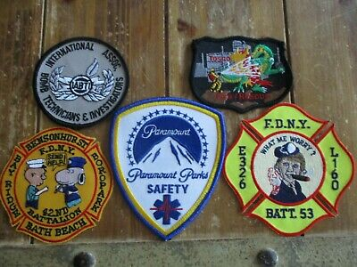 5 Company Fire Patches #21