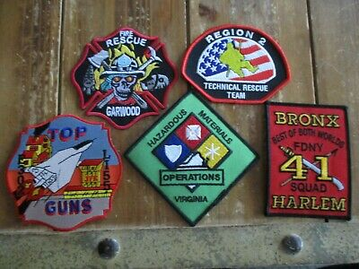 5 Company Fire Patches #24