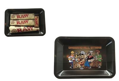 Raw All Stars Rolling Kit Tray Bundle Kit King Size Papers Raw Cones Tips