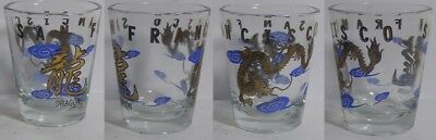 San Francisco Dragon Shot Glass #4195