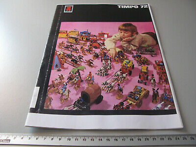 catalogue TIMPO TOYS Copy 1972 anglais, allemand 16 pages