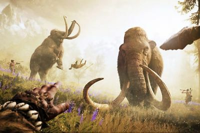 Worldwide Screensaver Ice Age Extinct 54 Picture Mammoth Shipping Free Economy