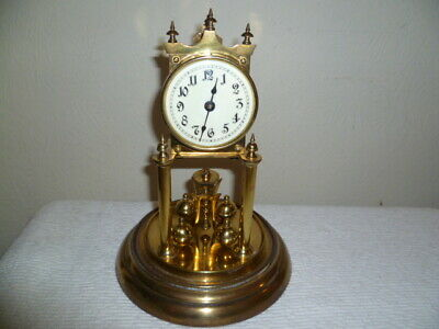 Antique, Kienzle Anniversary clock in Vgc, Needs Suspension Wire, No Dome.