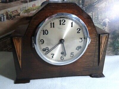 Anvil Westminster Mantle clock in excellent restored serviced working condition