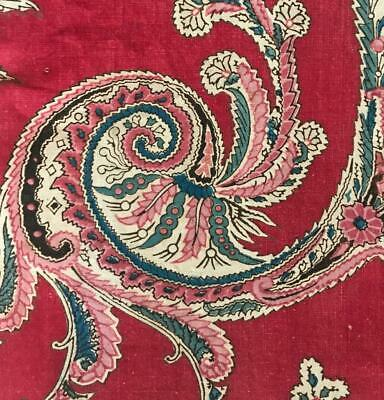 BEAUTIFUL EARLY 19th CENTURY FRENCH BLOCK PRINT INDIENNE c1810-20 196