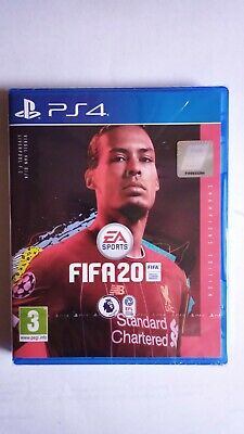 FIFA 20 Champions Edition (PS4) BRAND NEW AND SEALED - QUICK DISPATCH