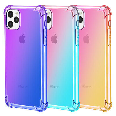 Case For iPhone XR XS Max 11 Pro Max Cover Silicone Gel Clear Shockproof TOUGH