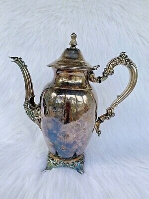 Collectible Oneida Teapot Silver Plated Silver Dinnerware Serving Kitchen USA