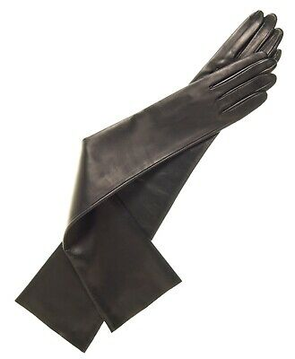 Italian Unlined Opera Gloves ( 12-Button Length` / 30 CM ) Sheep Leather Gloves