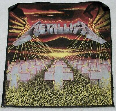 Vintage Metallica Master of Puppets back patch 12x11 inches