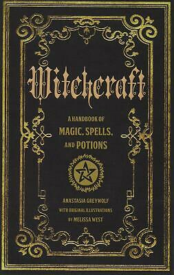 Witchcraft: A Handbook of Magic Spells and Potions (Mystical Handbook) Hardcover