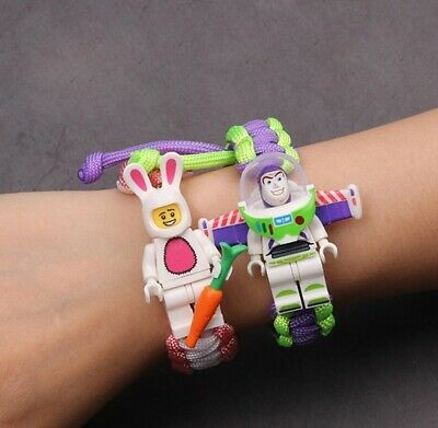 Toy Story 4 Woody Buzz Lightyear Avengers Action Figures Bracelet Toys