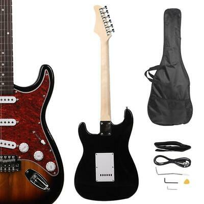 Glarry GST3 Sunset Right Handed School Band Electric Guitar Bag with Accessories