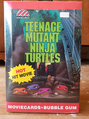 Factory sealed Box of TMNT collector cards