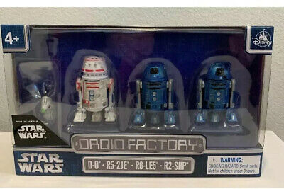 Disney Parks Exclusive, New 4PACK DROID FACTORY STAR WARS THE RISE OF SKYWALKER