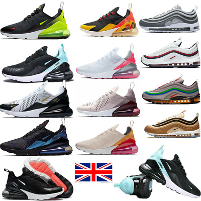 Mens Womwns Air Max-270 Running Shoes Light Sport Trainer Sneakers Size UK 3-10