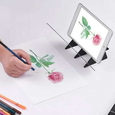 Optical Image Drawing Board Sketch Reflection Painting Mirror Plate Easy To Use