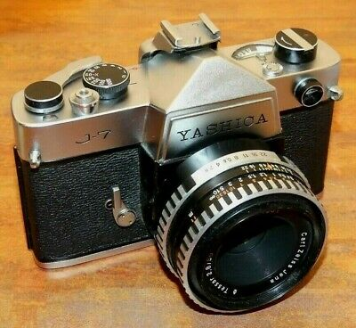 Yashica J7 mit Zeiss Tessar 2,8/50mm in M42 ! Mechanik Pur ! Nr..21783
