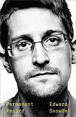 Permanent Record by Edward Snowden Social Activist Hardcover September 17, 2019