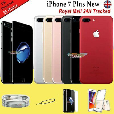 NEW Unlocked Apple iPhone 7 Plus 256GB 128GB 32GB All Colours Mobile Smartphone