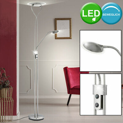 LED 24 W Tabletop Stand Fluter Reading Lamp Flexo Bedroom Lamp Switch EEK A