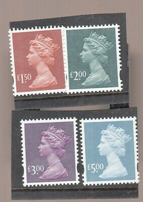Gb 2003 High Value Machin Set Issued That Year Umm/Mnh