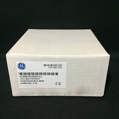 New Factory Sealed GE FANUC IC200CPUE05 VersaMax PLC Module