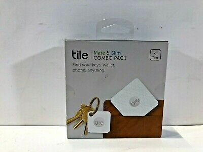 NEW Tile Mate and Slim Combo Pack - Key Finder. Phone Finder. Anything Finder