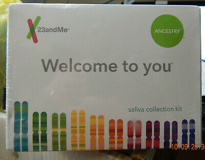 New 23andMe Personal Ancestry DNA Kit Saliva Test