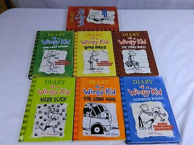 Diary Of A Wimpy Kid 7 Chapter Book Lot Jeff Kinney Paperback Hardcover