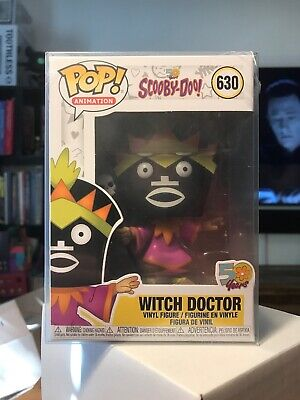 Funko Pop Animation 630 Witch Doctor Scooby-Doo  With Protector
