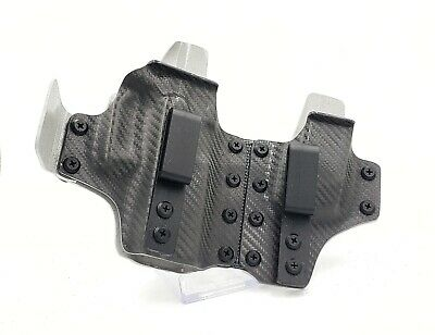 AP-2 - Appendix Holster IWB with Back Up - WINTER WOLF Limited Edition