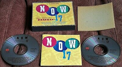 Now Thats What I Call Music 17 1990 Double Cd Fat Box With Booklet