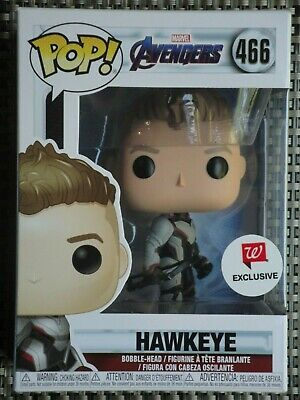Funko POP Hawkeye action figure vinyl bobble-head # 466 Avengers exclusive